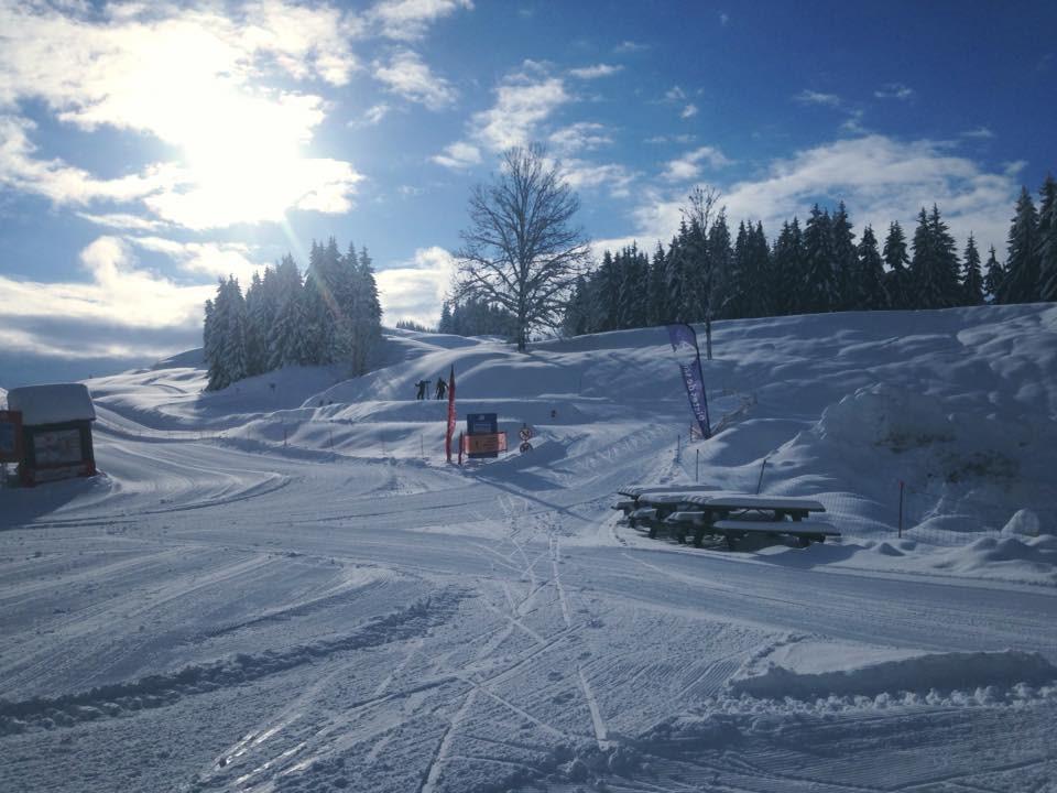 Plateau d'Agy en hiver