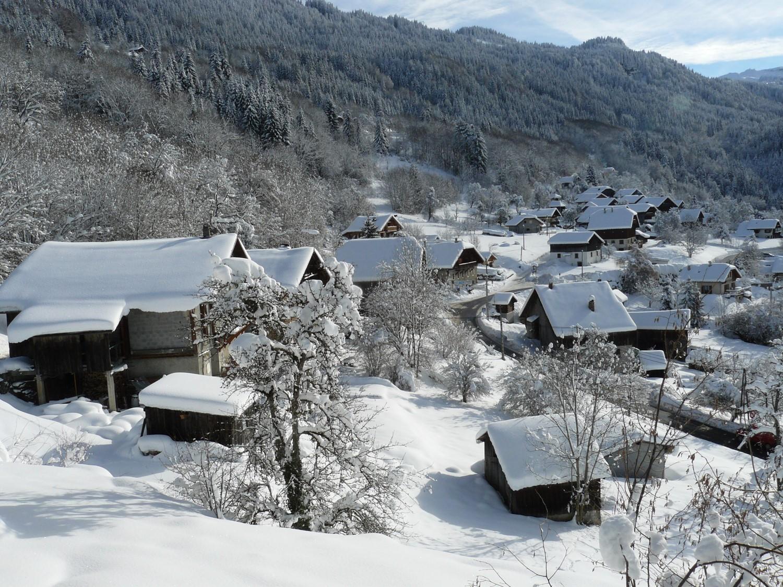 Saint-Sigismond sous la neige