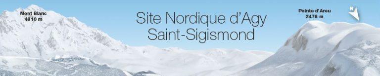 Activités et navettes site nordique d'Agy