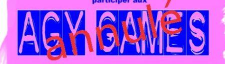 Annulation des Agy Games